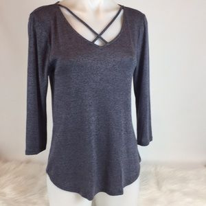 NWT Papermoon for Stitch Fix Sadie Back Detail Top